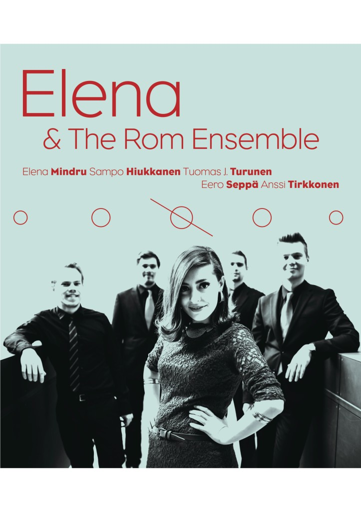 Elena & The Rom Ensemble Jazzliiton kiertueella 13.–23.4.2016